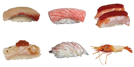 Sushi created by sushi master Ahn Hyo-ju. [KIM SEONG-RYONG]