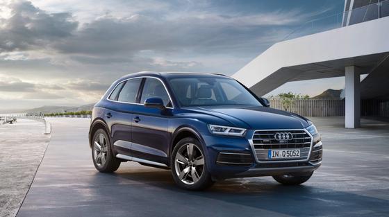 Audi Korea is launching the Q5 45 TFSI Quattro premium large-size SUV in Korea. [AUDI KOREA]