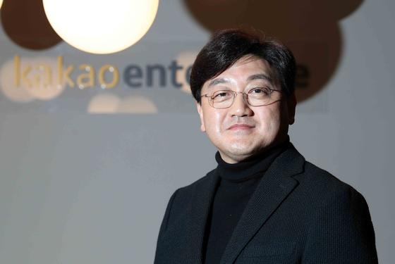 Baek Sang-yeop, CEO of Kakao Enterprise [KIM SANG SEON]