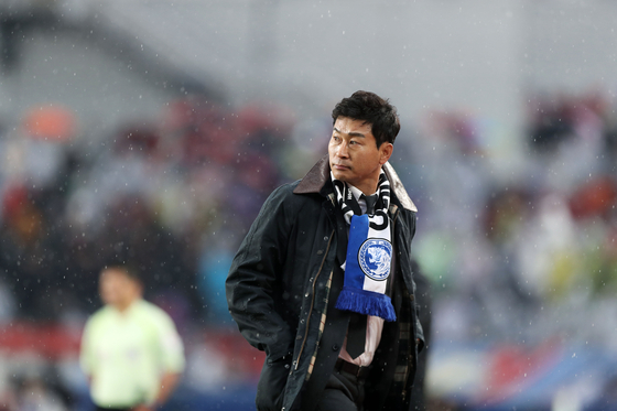 Ulsan Hyundai FC's head coach Kim Do-hoon hopes to lead the club to the K League 1 title and redeem himself from a disappointing last season. [K LEAGUE]