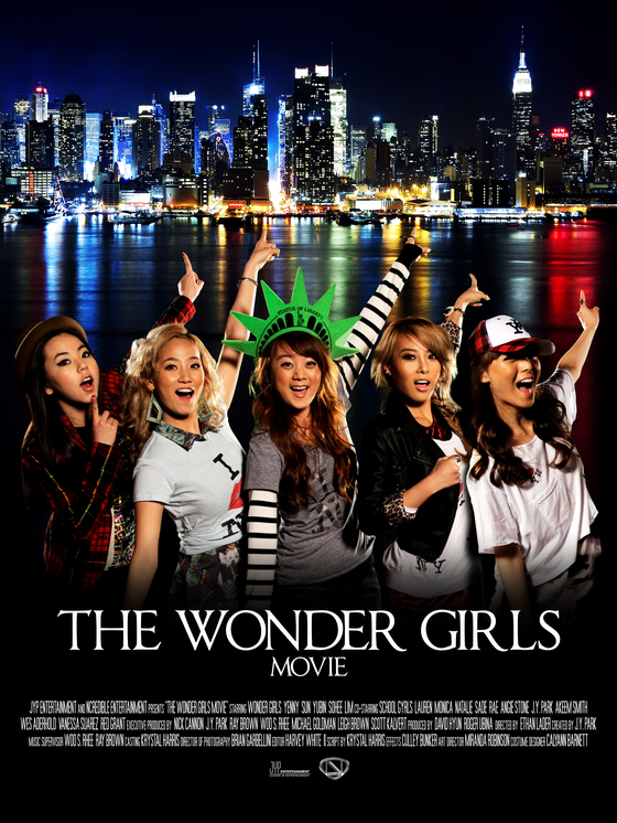 "Wonder Girls, which disbanded in 2017, is the first K-pop group to enter the U.S. Billboard Hot 100 chart. Following the group's popularity in the American market, the film ""The Wonder Girls"" (2012) directed by Ethan Lader, was produced. [JYP Entertainment]"