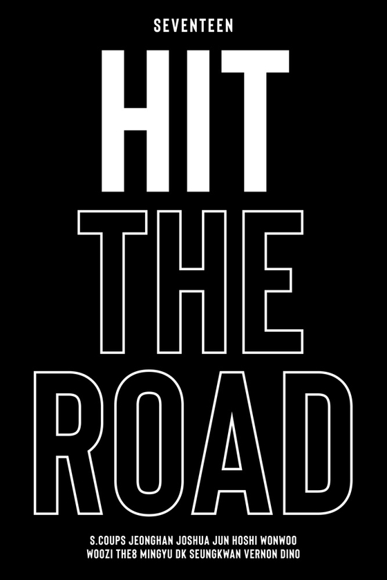 """Seventeen's first documentary """"Hit The Road"""" will be released on May 15. [PLEDIS ENTERTAINMENT]"""