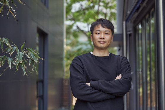 "Writer Gin Han-sai, the creator of 'Extracurricular"" on Netflix. [NETFLIX]"