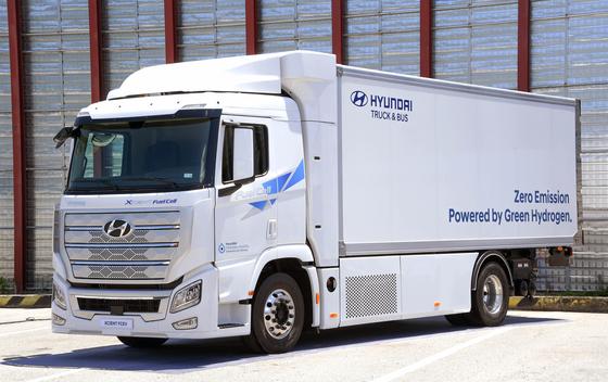 Hyundai Motor's hydrogen Xcient [HYUNDAI MOTOR]