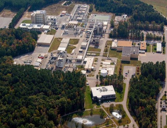 Ampac's production plant in Virginia, United States. [SK HOLDINGS]