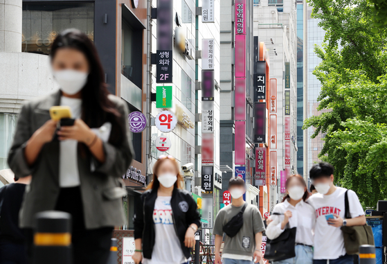 Plastic surgery clinics were one of the beneficiaries during the Covid-19 pandemic in Korea in the first quarter of 2020. [NEWS1]