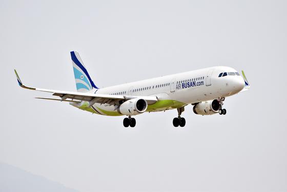 An Air Busan plane. [AIR BUSAN]