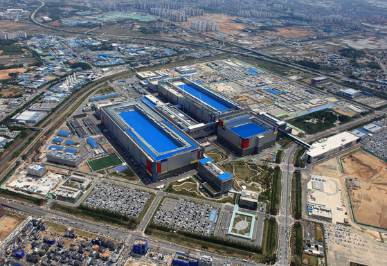 Samsung Electronics' Pyeongtaek plant in Gyeonggi. [SAMSUNG ELECTRONICS]