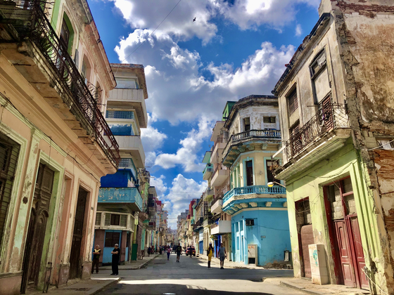Havana is famous for its colonial architecture and vintage American cars, but it's the last place you would want to be if you are scrambling to change a flight. [YU JIN-SIL]