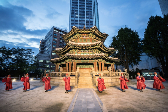 A photo taken by the Korea Cultural Heritage Foundation and Cultural Heritage Administration for the promotion of heritage sites in Korea. [KOREA CULTURAL HERITAGE FOUNDATION]