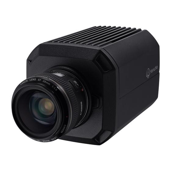 Hanwha Techwin's TNB-9000 surveillance camera. [HANWHA TECHWIN]