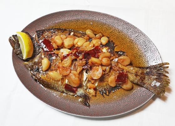 Grilled fish from El Txoko de Terreno [PARK SANG-MOON]