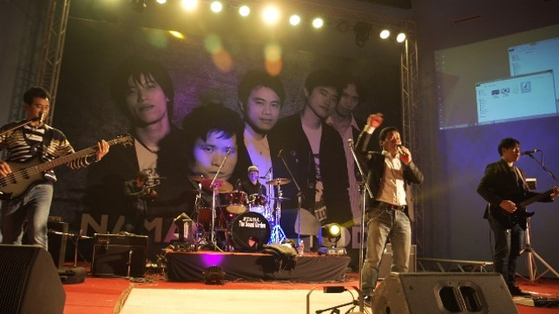 """Minu and his band, """"Stop Crackdown"""" get together after nine years to perform in Nepal, Minu's home country. [FULL FILM]"""