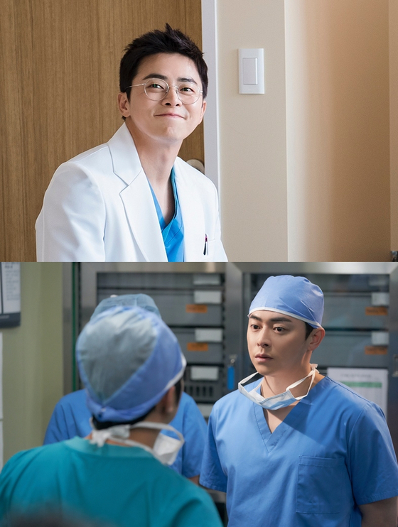 """Cho acts doctor Lee Ik-jun in the tvN drama series """"Hospital Playlist."""" [TVN]"""