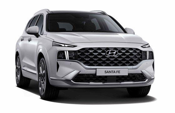 Hyundai Motor revealed the design of its partially revamped Santa Fe midsize SUV on Wednesday. The car, which is a facelift of the fourth generation model that launched in 2018, has been equipped with an enlarged grille and slimmer headlights. The automaker plans to hold a digital launch event for the new Santa Fe in June and start sales. [HYUNDAI MOTOR]