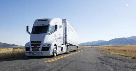 Nikola Motor's hydrogen truck. [HANWHA]
