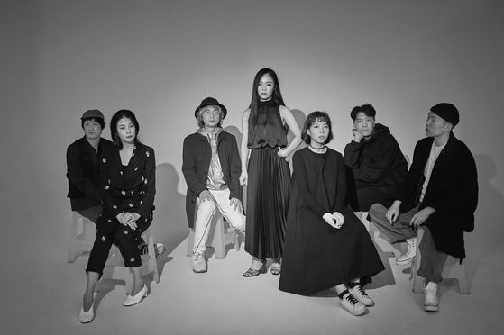 Seven-member alternative pop band Leenalchi  [LG ARTS CENTER]