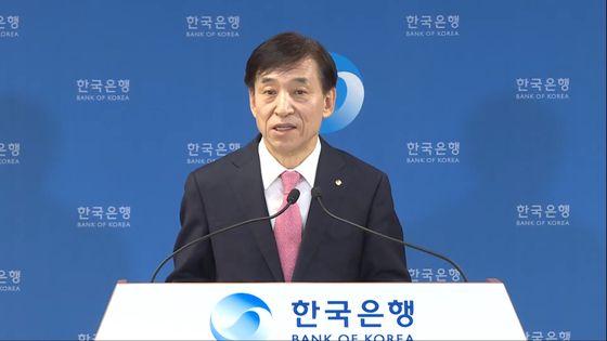 Bank of Korea Gov. Lee Ju-yeol [BANK OF KOREA]