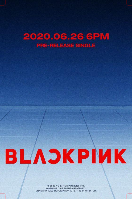 Blackpink comeback teaser poster [YG ENTERTAINMENT]