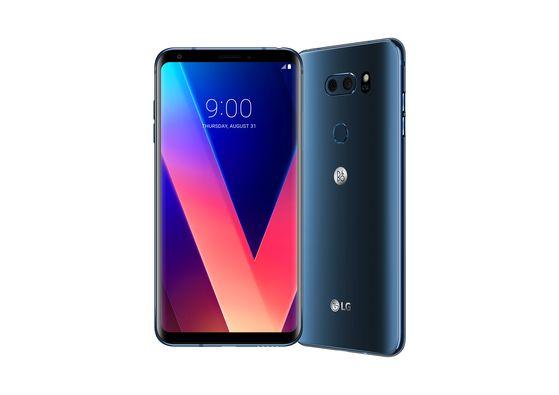 LG Electronics' V30 smartphone sports a 6-inch OLED panel. [LG Electronics]