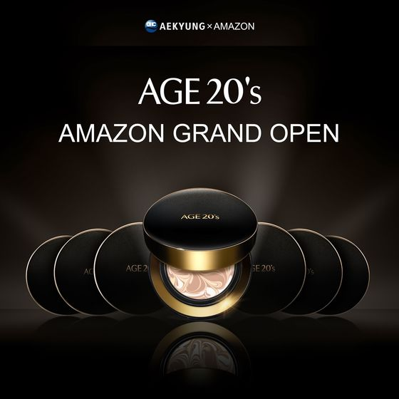 Aekyung Industrial's Age 20's cosmetics product. The beauty company opened a brand page on Amazon on Monday. [AEKYUNG INDUSTRIAL]