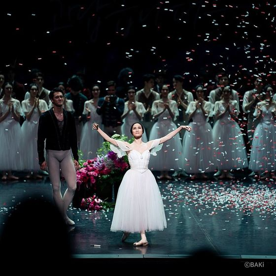 """""""Giselle"""" on June 23, 2019 at the Seoul Arts Center, southern Seoul, was Kim's final performance as a principal dancer of Korean National Ballet. [Korean National Ballet]"""
