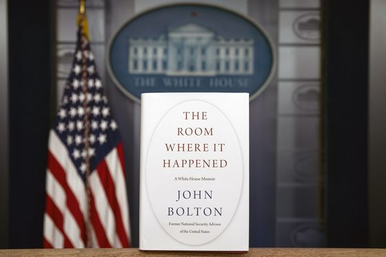 "A copy of ""The Room Where It Happened"" by U.S. President Donald Trump's former National Security Advisor John Bolton is photographed at the White House last Thursday in Washington ahead of its release Tuesday. [AP/YONHAP]"