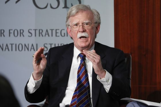 John Bolton, the former U.S. national security adviser, speaks at the Center for Strategic and International Studies in Washington on Sept. 30, 2019. [AP/YONHAP]