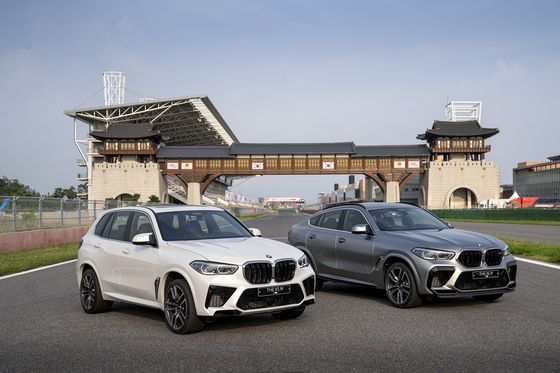 The New X5 M and the New X6 M [BMW KOREA]