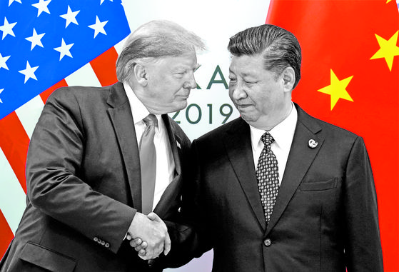 U.S. President Donald Trump meets with China's President Xi Jinping at the start of their bilateral meeting at the G20 leaders summit in Osaka, Japan, June 29, 2019.