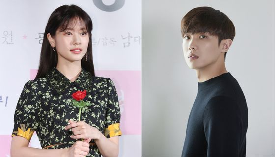 Actors Jung So-min, left, and Lee Joon are no longer together, their agencies confirmed on Friday. [ILGAN SPORTS, PRAIN TPC]
