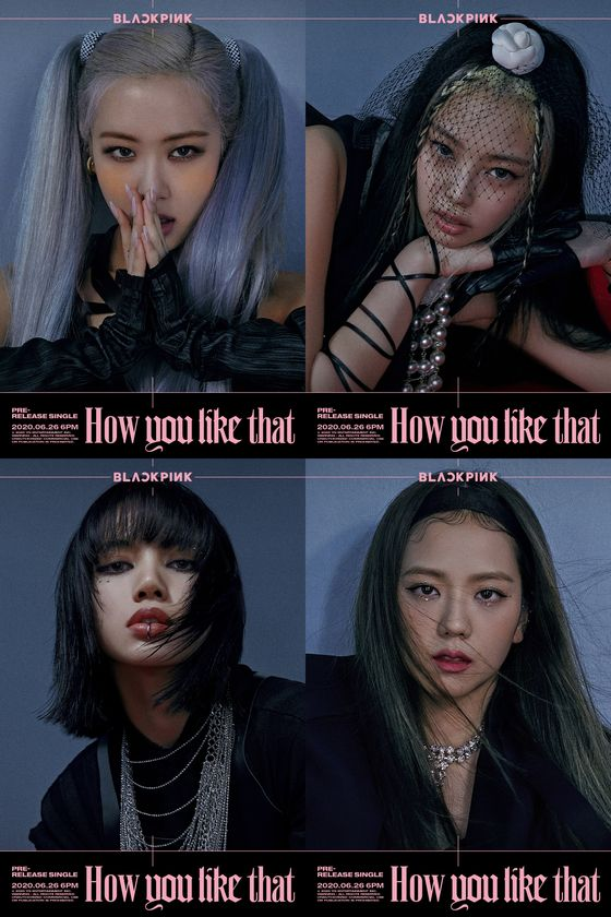 """Blackpink's new single """"How You Like That"""" will be released Friday at 6 p.m. [YG ENTERTAINMENT]"""