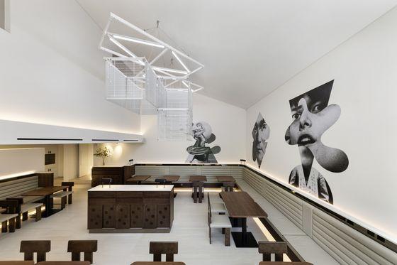 Kukje Gallery K1's second floor restaurant. [KUKJE GALLERY]