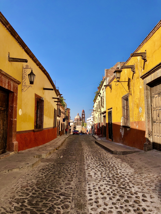 San Miguel de Allende, Mexico, remained untouched by the coronavirus in mid-February. [JIM BULLEY]