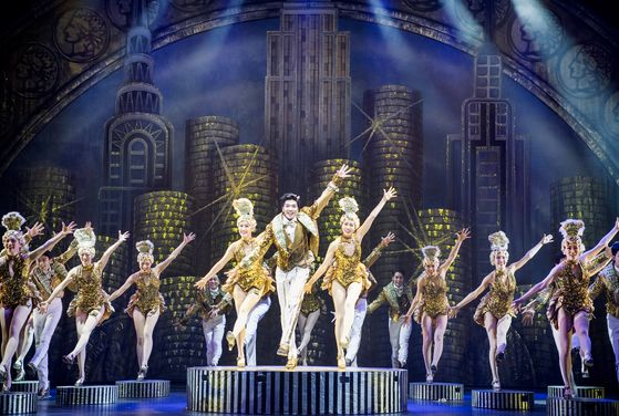 "Musical '42nd Street"" is coming to Seoul in four years. Set in 1933, the musical depicts life and dream of dancer hopefuls in Broadway.  [SEM COMPANY]"
