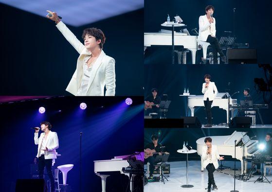 "Jang's online fanmeeting ""2020 JKS Online STAGE Dreams"" on June 28. [SCREEN CAPTURE]"