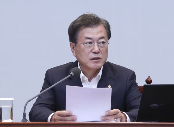 President Moon Jae-in [YONHAP]