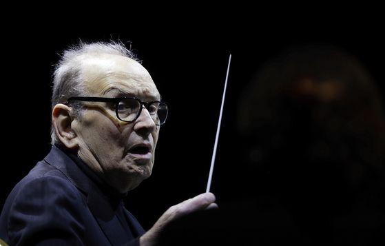 Italian composer Ennio Morricone is dead at 91. [AP/YONHAP]