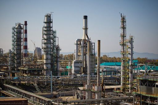 `An image of an oil refinery in Bukhara, Uzbekistan. SK E&C is to undertake a front-end engineering design job for the oil refinery, which is located 437 kilometers (271 miles) southwest of the capital city Tashkent. [SK E&C]
