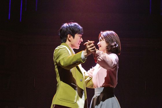 "Korean musical ""Maybe Happy Ending"" is currently being staged at the Yes 24 Stage. [CJ ENM]"