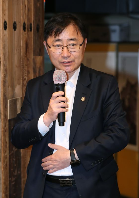 First Vice Minister of Culture, Sports and Tourism Oh Yeong-woo [MINISTRY OF CULTURE, SPORTS AND TOURISM]