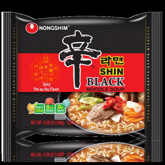 Nongshim's Shin Ramyun Black. [NONGSHIM]