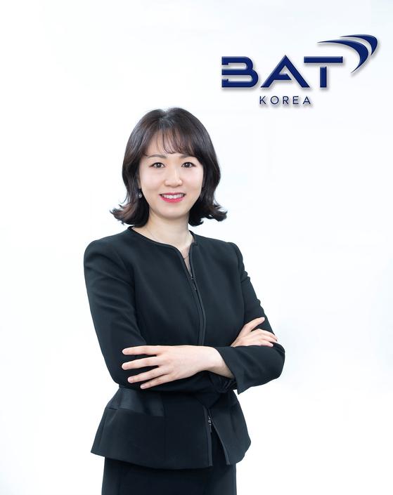 Kim Eun-ji, the new country manager of BAT Korea. [BAT KOREA]