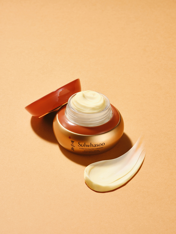 An image of Sulwhasoo's Concentrated Ginseng Renewing Cream. [AMOREPACIFIC]
