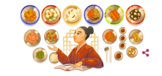 Hwang Hye-seong (1920-2006), who dedicated her life to researching Korean royal court cuisine, is featured on Google Doodle on July 5 to commemorate the 100th birthday of Hwang. [SCREEN CAPTURE]