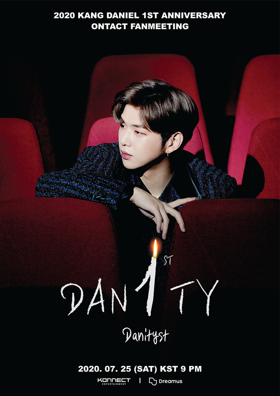 Kang Daniel's fan meet-and-greet poster. [KONNECT ENTERTAINMENT]