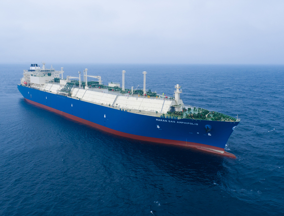 A LNG ship by Daewoo Shipbuilding & Marine Engineering (DSME). [DSME]