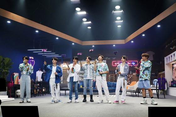 "BTS's online concert ""Bang Bang Con"" [BIG HIT ENTERTAINMENT]"