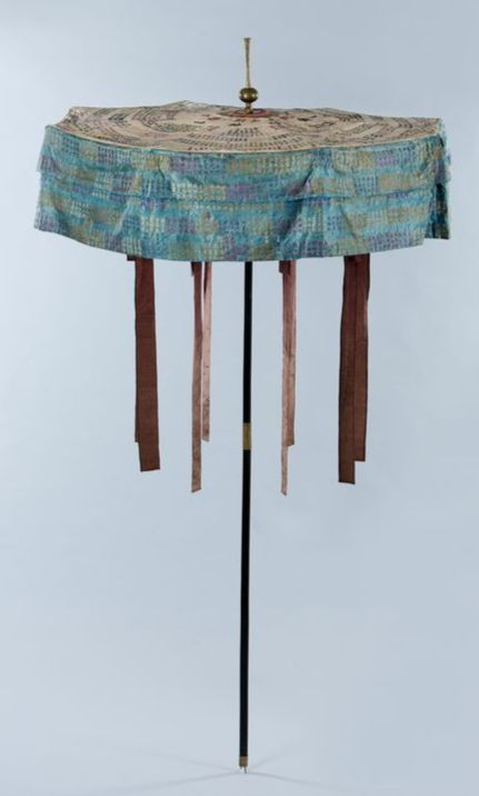 An umbrella used in the Joseon Dynasty (1392-1910). [NATIONAL FOLK MUSEUM OF KOREA]