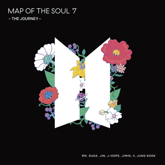 """BTS's fourth full-length Japanese album """"Map of the Soul: 7 – The Journey."""" [BIG HIT ENTERTAINMENT]"""